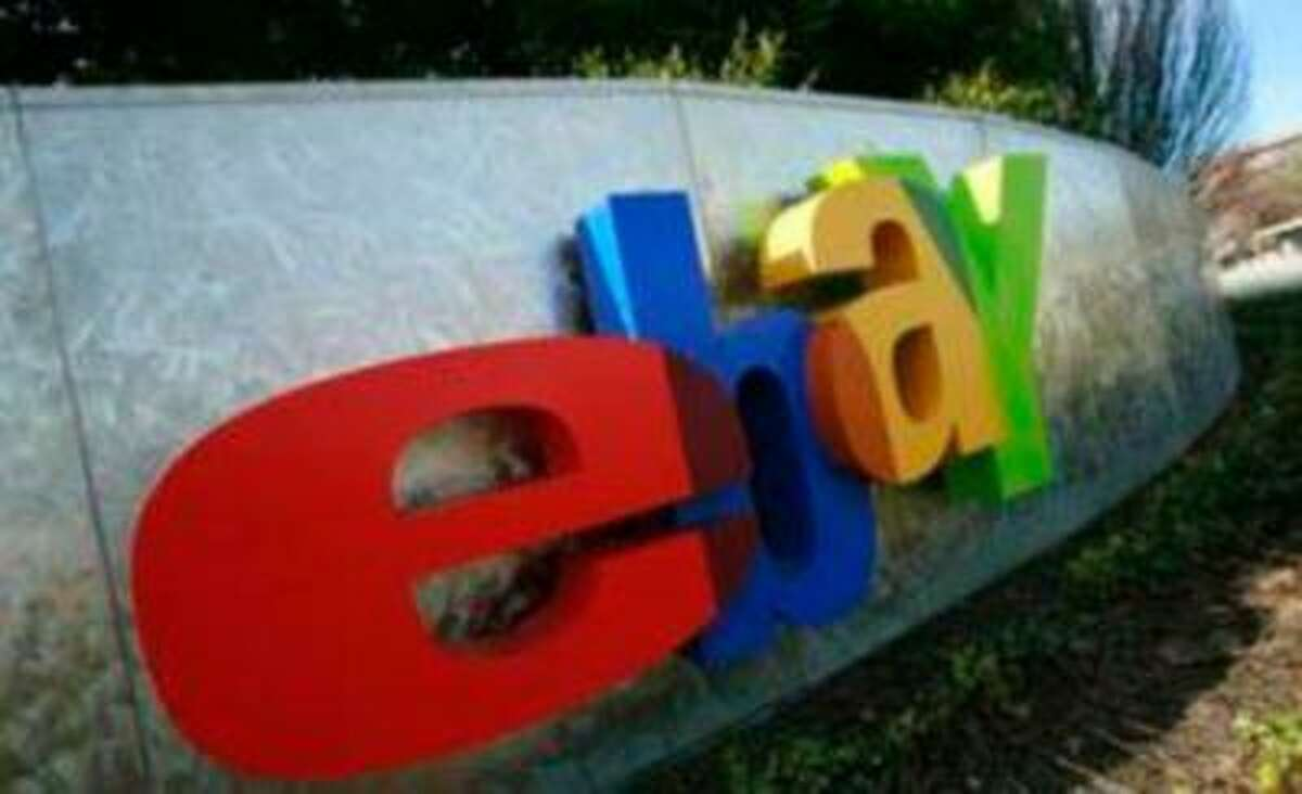 A sign is shown at the headquarters of eBay in San Jose, Calif. (Reuters/Robert Galbraith)