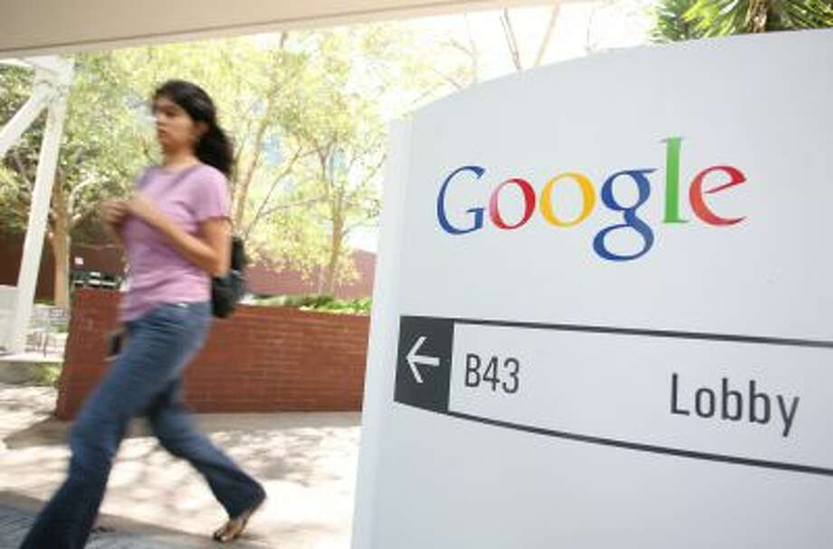 The Google logo is seen at the Google headquarters in Mountain View, California. on September 2, 2011. Photo: AFP/Getty Images / 2011 AFP