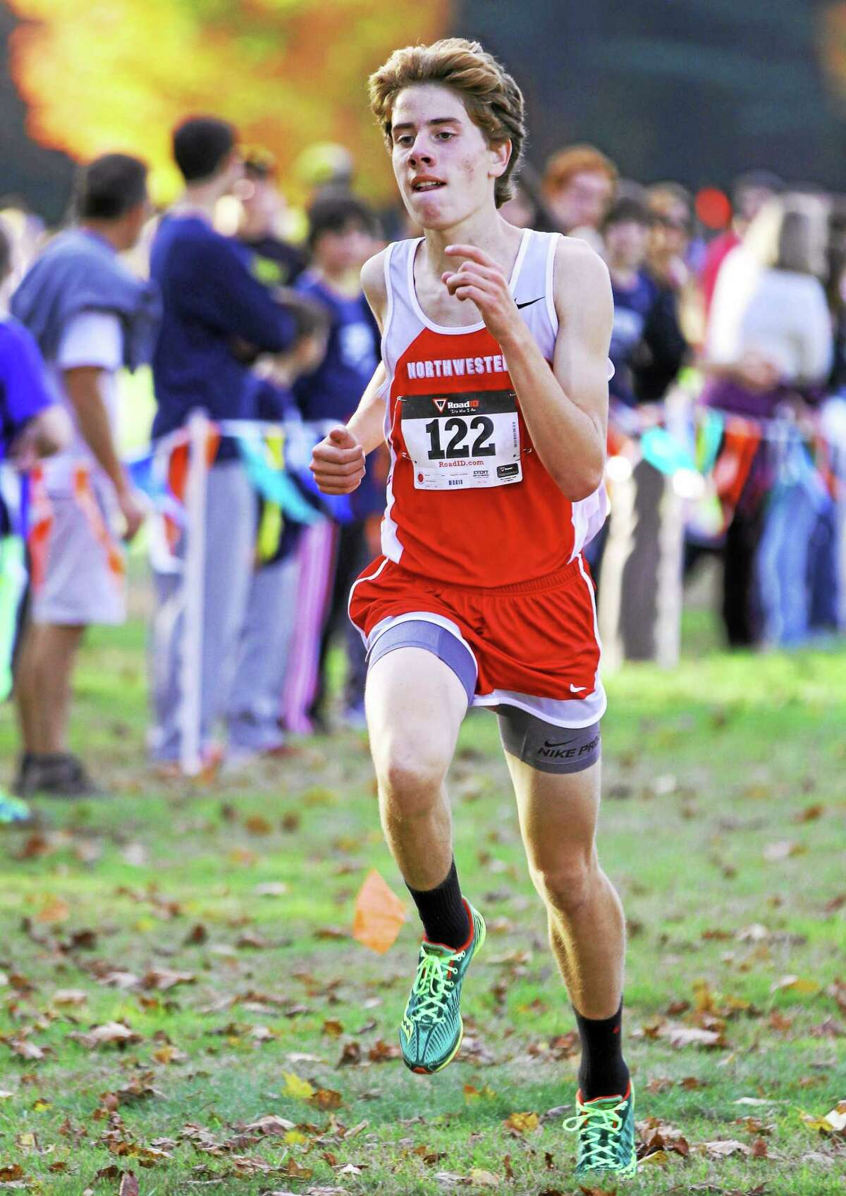 Northwestern's Peter Bakker took home the boys individual title, helping lead the Highlanders to the boys team title.