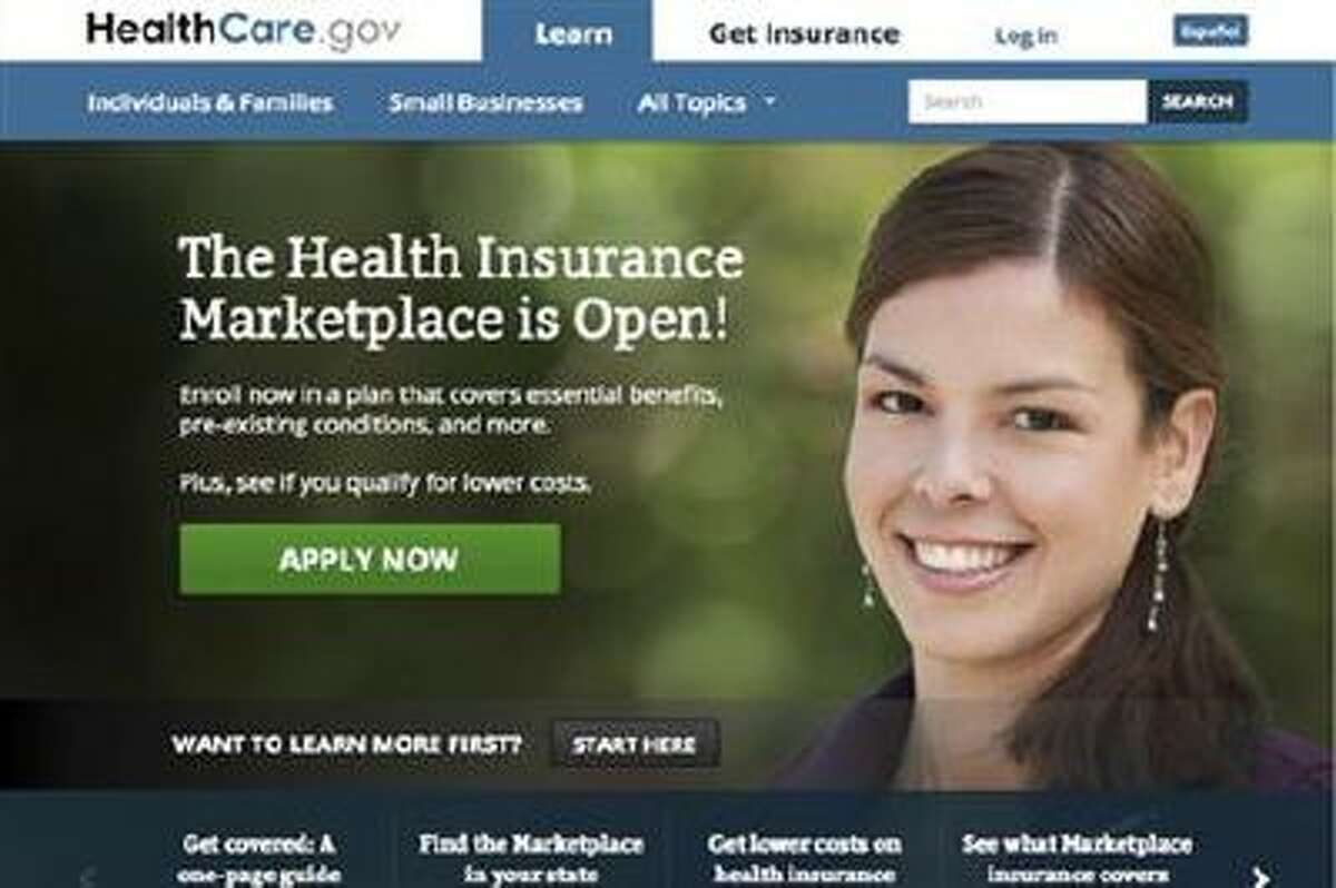 In this screen grab, the HealthCare.gov website is displayed. Bob Laszewski, a Washington, D.C.-based health care industry consultant, suspects the dearth of early enrollment data conceals an extremely slow start thanks to widely reported technical problems. The U.S. Department of Health and Human Services, which is overseeing the exchanges in 36 states, does not expect to release enrollment data until the middle of November. (AP Photo/HealthCare.gov)