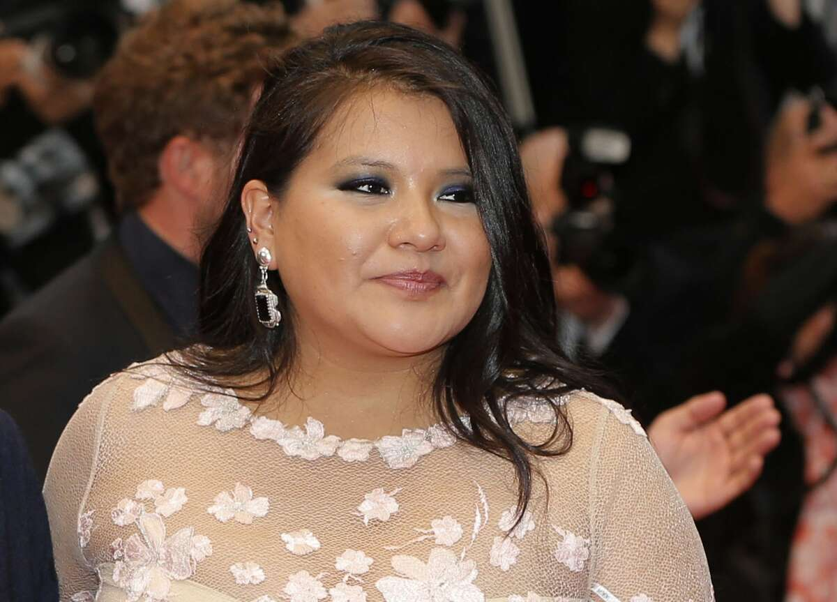 In this May 17, 2013 file photo, actress Misty Upham arrives for the screening of the film Jimmy P.: Psychotherapy of a Plains Indian, at the 66th international film festival, in Cannes, southern France. Police in Washington state say Upham, known for her roles in ìAugust: Osage County,î ìFrozen Riverî and ìDjango Unchained,î has been missing since Sunday, Oct. 5, 2014. (Photo by Todd Williamson/Invision/AP, File)