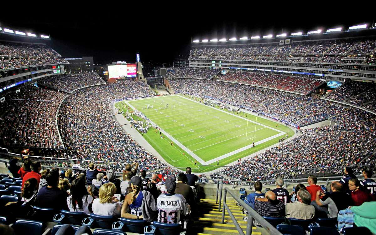 UConn and UMass will meet at Gillette Stadium in 2016 according to a report.