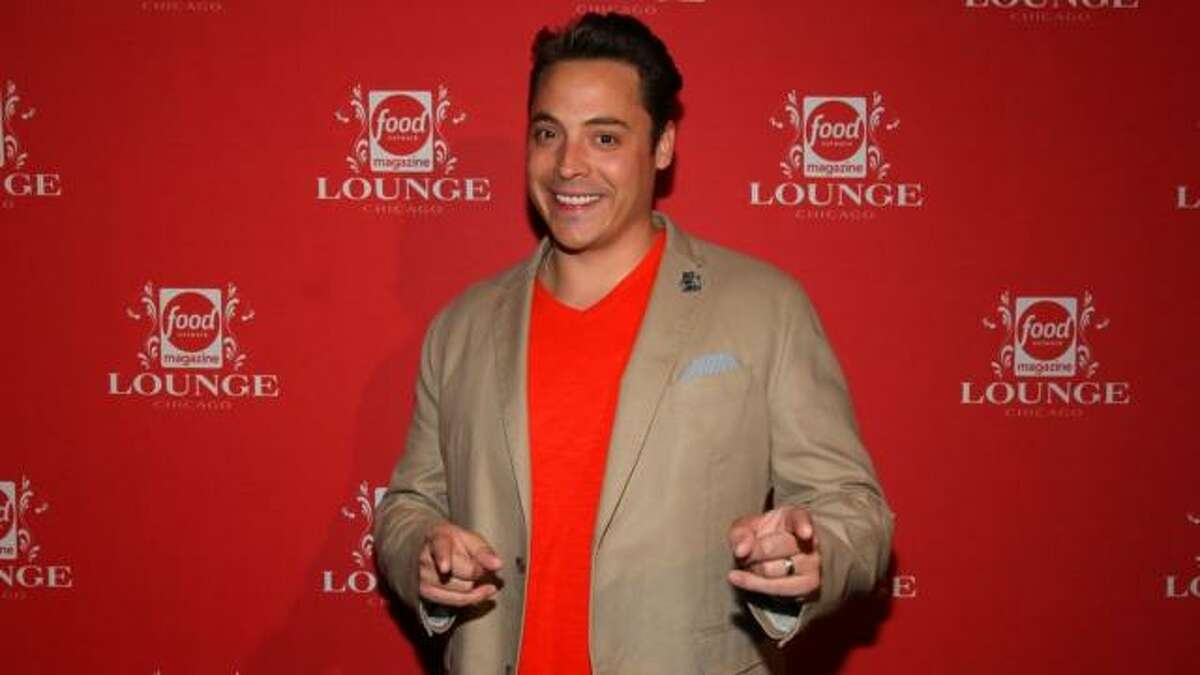 Jeff Mauro at Food Network Magazine Chicago Lounge at RPM Italian, on Wednesday, May 22, 2013 in Chicago, IL. (Photo by Barry Brecheisen/Invision/AP Photo)