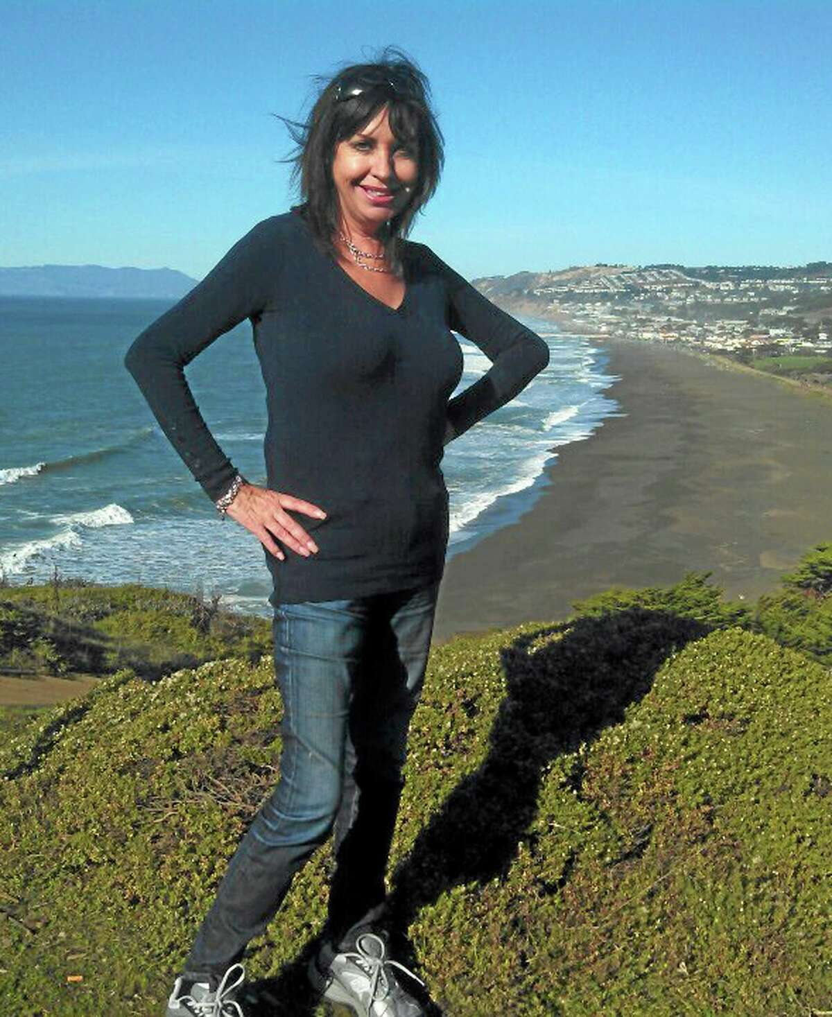 An undated photo provided by David Perry & Associates, shows Lynne Spalding. Officials confirmed Tuesday Oct. 9, 2013, the identity of the body discovered in a rarely used stairwell at San Francisco General Hospital more than two weeks ago as that of Lynne Spalding, 57, a native of England. Spalding was being treated for an infection at the hospital when she disappeared from her room on Sept. 21, 2013. (AP Photo/Courtesy of David Perry & Associates)