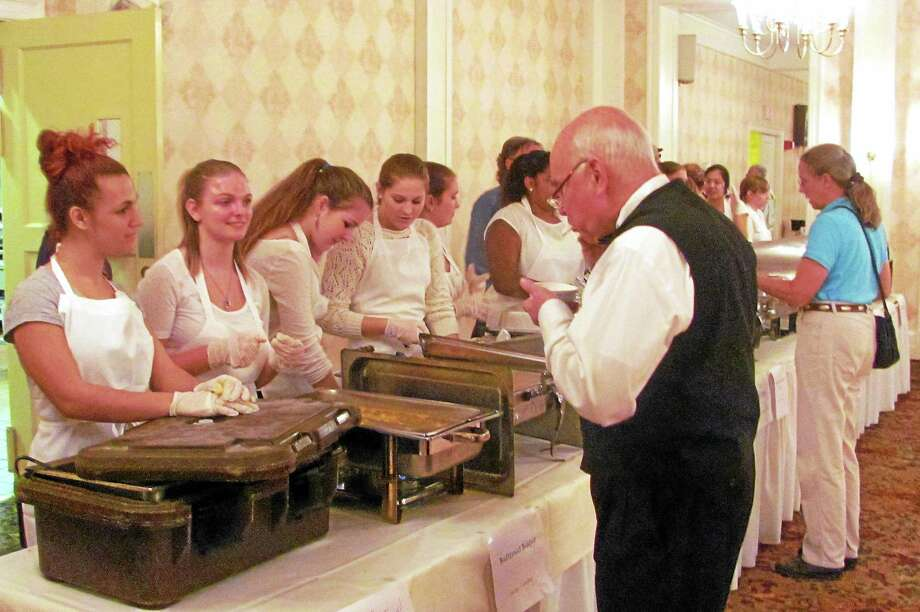 """The Torrington Elks Lodge hosted the fifth annual """"Empty Bowls"""" fundraiser on Wednesday, Oct. 15 to benefit The Community Soup Kitchen of Torrington. Photo: John Nestor — Special To The Register Citizen"""