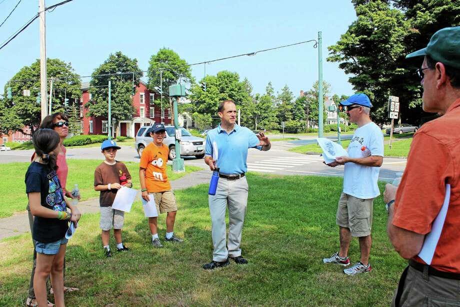 Litchfield walking tours show town history. Photo: Contributed Photo