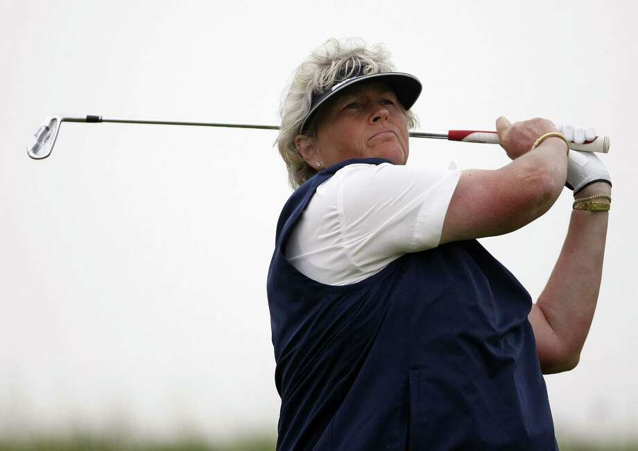 Laura Davies is one of four people who have been chosen for induction into the World Golf Hall of Fame along with Mark O'Meara, David Graham and architect A.W. Tillinghast. Photo: Tim Hales — The Associated Press File Photo  / AP
