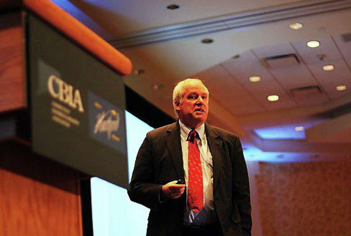 Federal Reserve Bank of Boston President and CEO Eric Rosengren. Christine Stuart/CT NewsJunkie