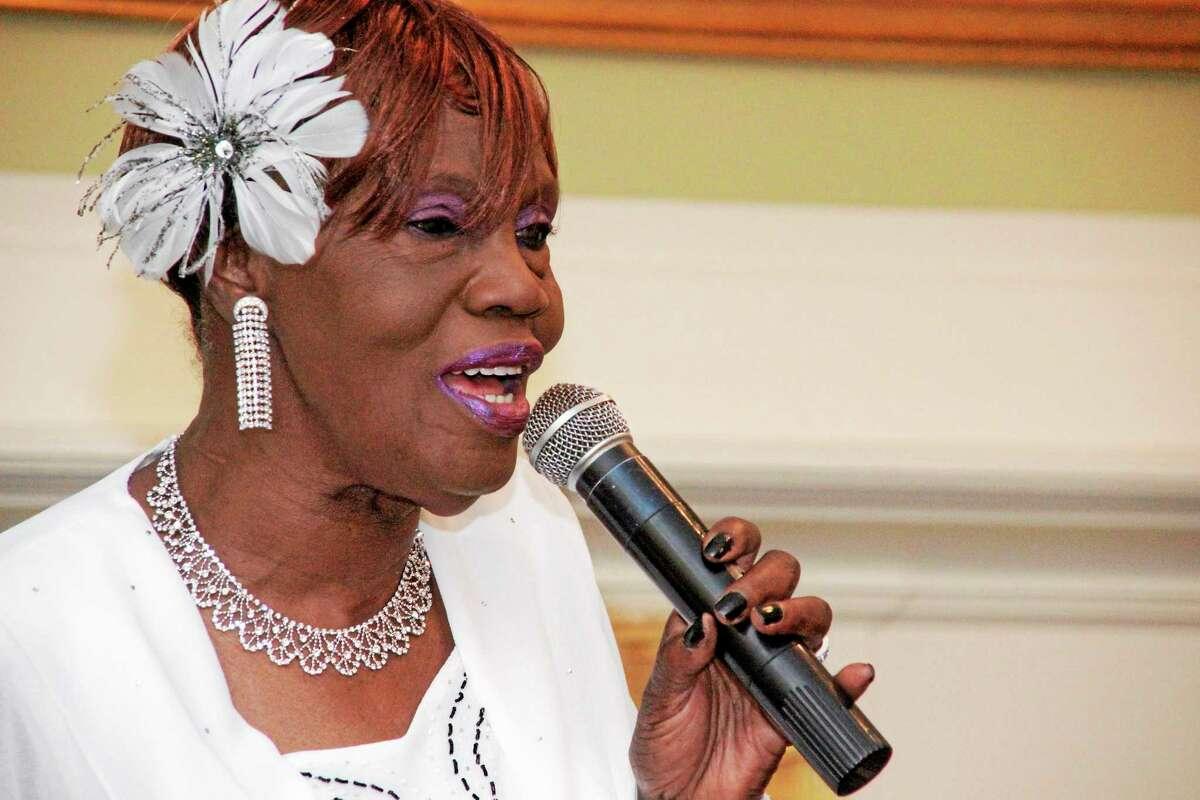 Norell Gudaitis paid tribute to her hero Cab Calloway.