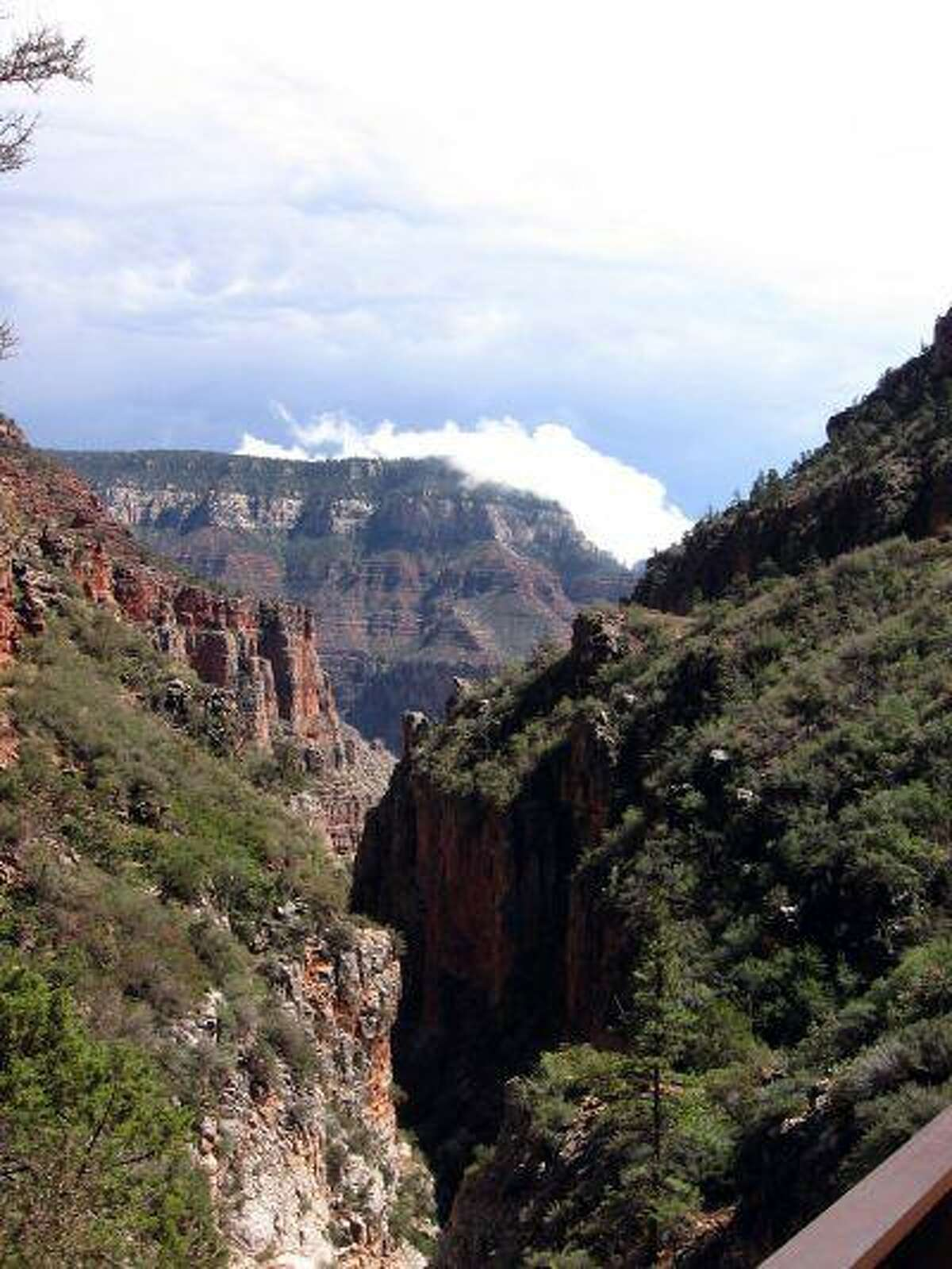 Officials at Grand Canyon National Park in Arizona are warning of delays in processing back-country permits and longer lines to get into the park as a result of budget cuts required by sequestration.(Washington Post photo by John Deiner).