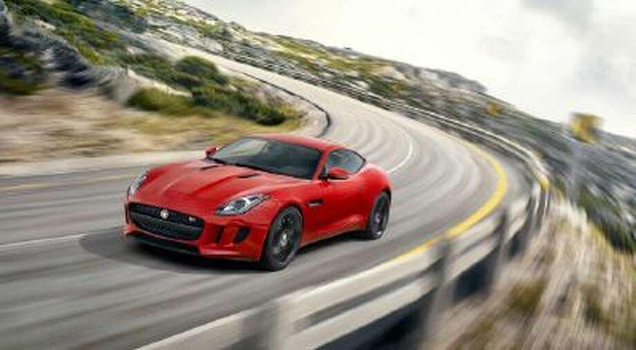 The Jaguar F-TYPE R Coupé, the most dynamically capable, performance-focused, production Jaguar ever.