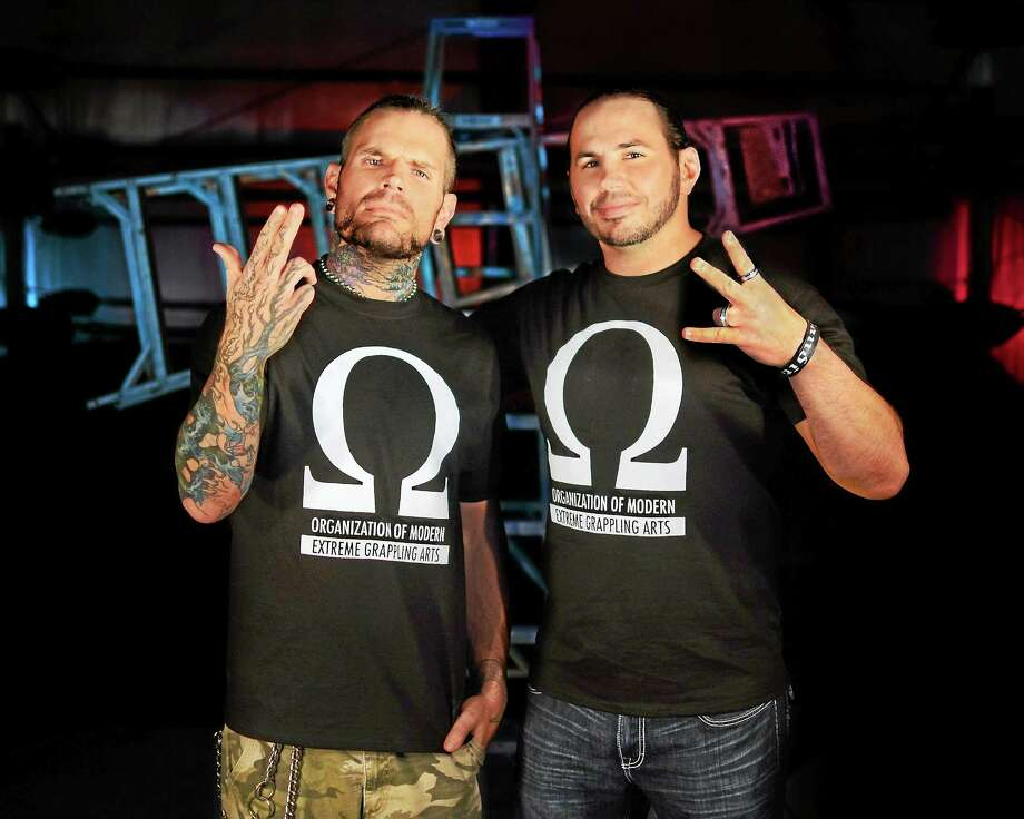 The Hardy Boys are a headline act at Northeast Wrestling's upcoming show in Waterbury. Photo: SUbmitted Photo