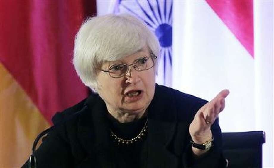 Janet Yellen, vice chair of the Board of Governors of the Federal Reserve System, is shown in this file photo. President Barack Obama will nominate Yellen to replace Federal Reserve Chairman Ben Bernanke. Photo: AP / AP