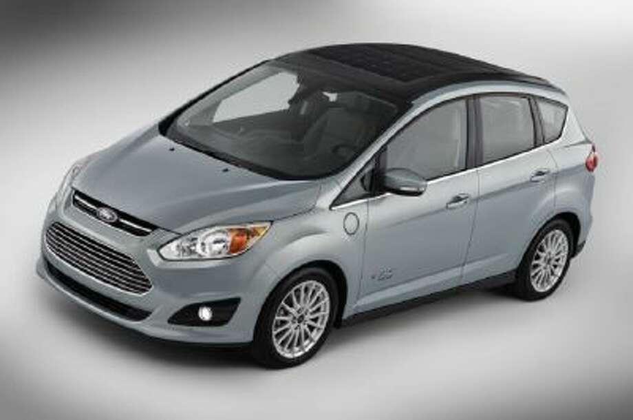 The Ford C-MAX Solar Energi Concept Car.