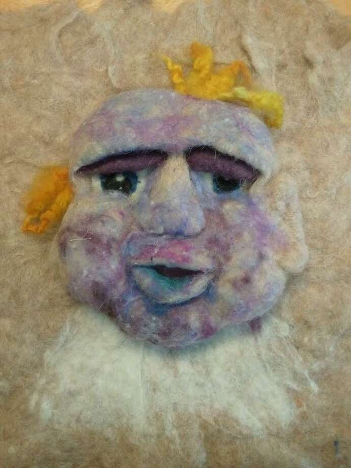 Felted wool can be used for more than bags and hats; Ginger Balch will show you how at her upcoming classes at In Sheep's Clothing in Torrington, offered by Artwell.