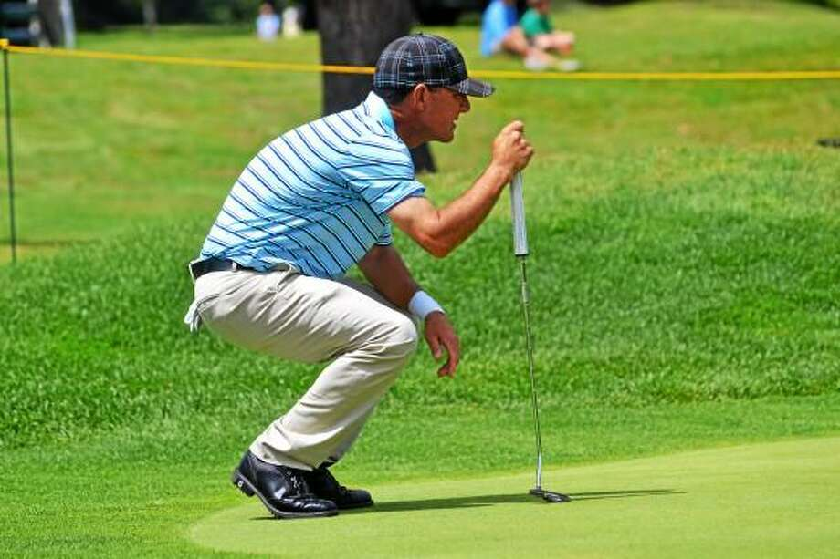 Pete Paguaga Register Citizen Bobby Gage shot a 220 over the three day tournament.