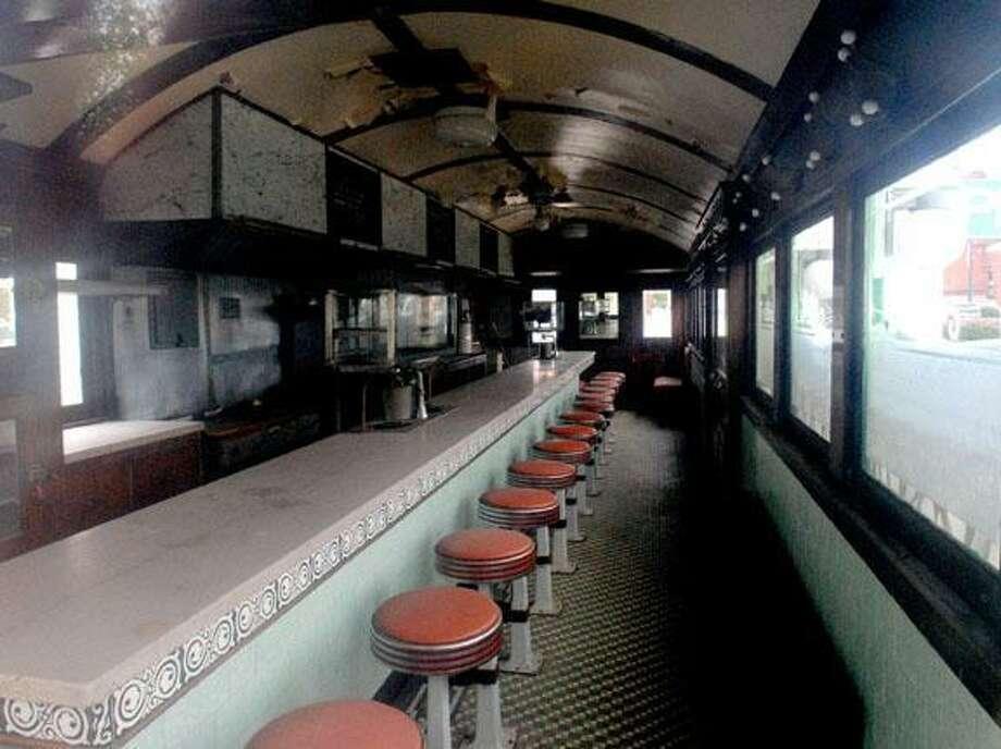 Inside Skee's Diner. File photo.