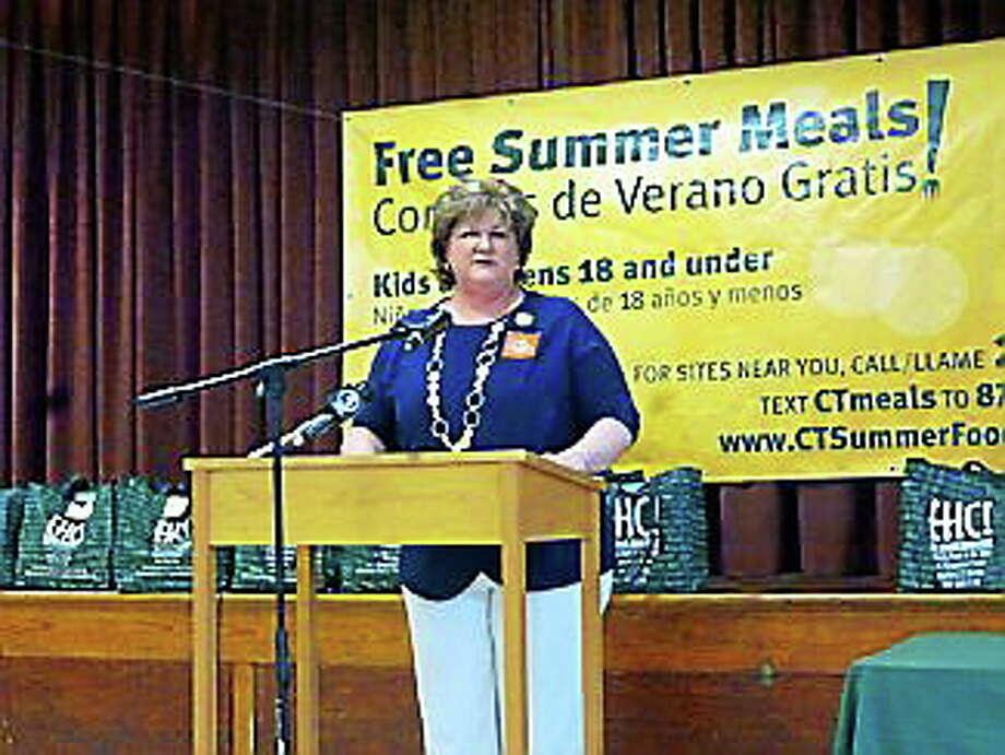 East Hartford Mayor Marcia LeClerc Photo: (Jhansi Katechia — Ctnewsjunkie.com)
