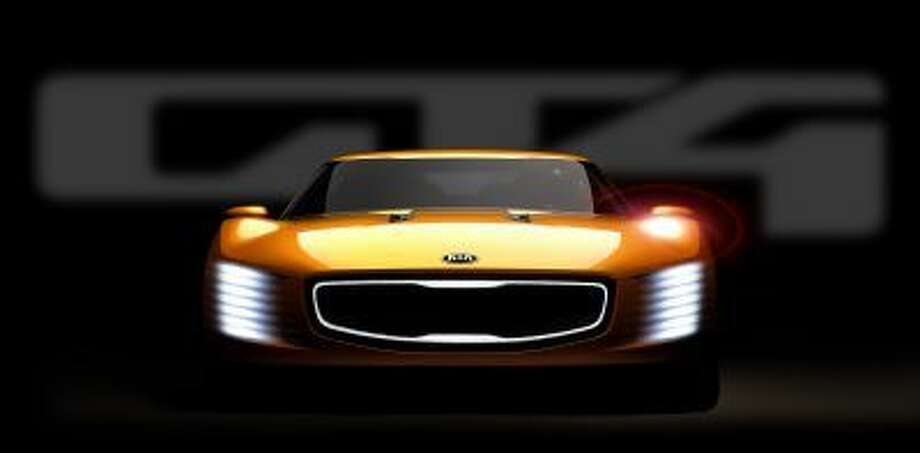 Kia's concept for Detroit is the GT4 Stinger.