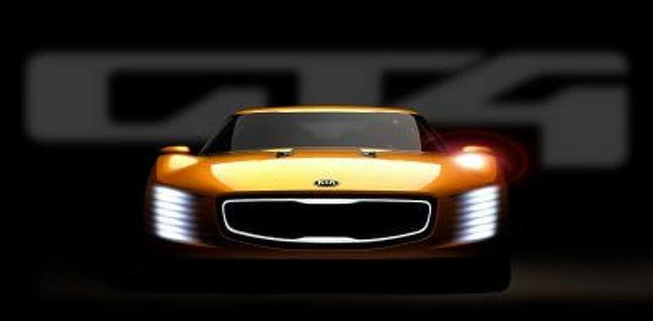 Kia's concept for Detroit is the GT4 Stinger.