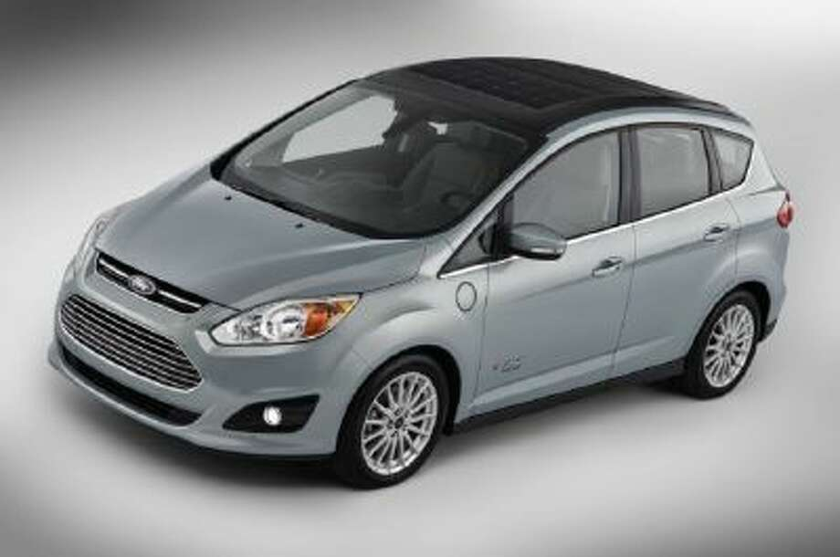 The Ford C-MAX Solar Energi Concept Car.