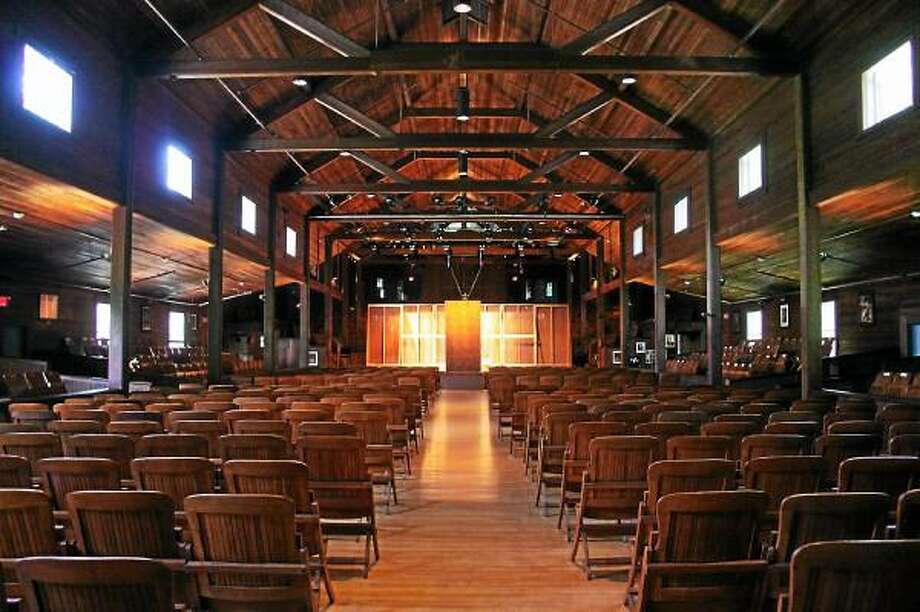 Walter Kidd--Register Citizen - Inside the historic and acoustically blessed Music Shed at the Norfolk Chamber Music Festival.