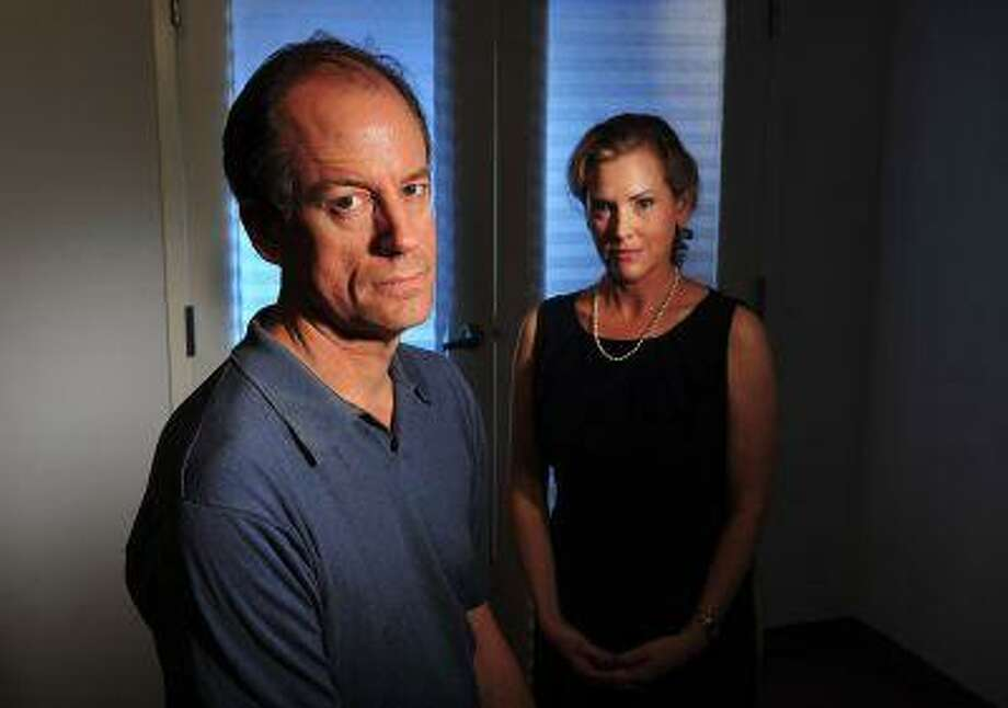 Thomas Drake, left, and Jesselyn Radack, right, at the offices of the Government Accountability Project (GAP) in Washington in July. Drake, who worked at the National Security Agency, is now an Apple store employee; Radack is director of national security and human rights at GAP, a whistle-blowing advocacy organization. Photo: THE WASHINGTON POST / THE WASHINGTON POST