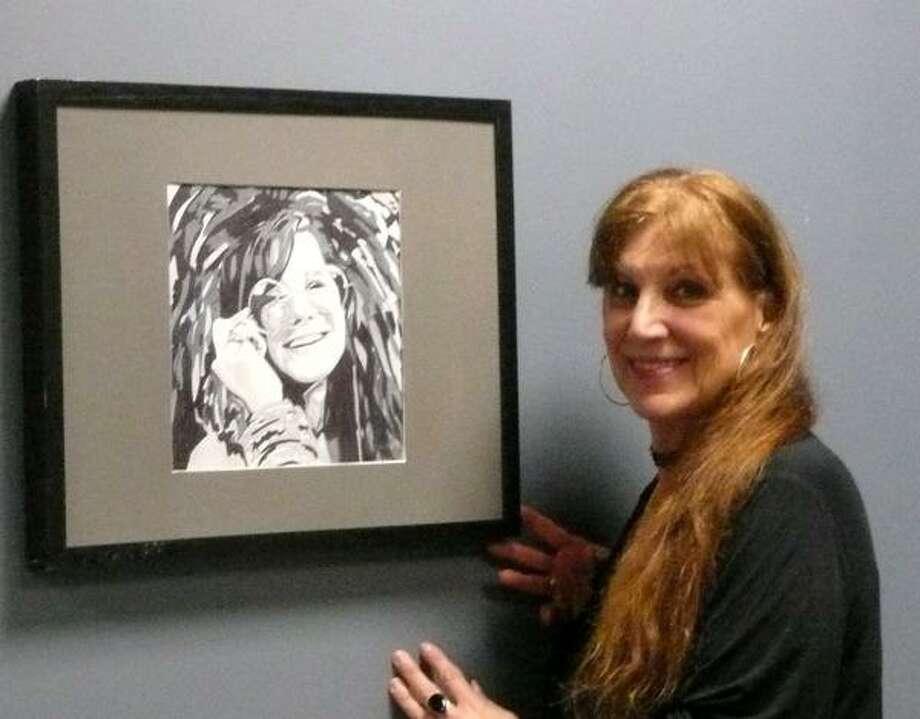 Artist Barbara Lombardo.