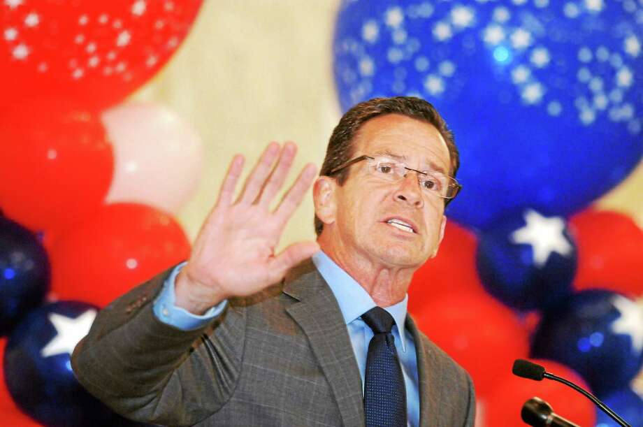 New Haven Governor Dannel P. Malloy addressed the CT AFL-CIO 10th annual Biennial Political Convention held at New Haven's Omni Hotel on June 16, 2014. mlavitt@newhavenregister.com Photo: Mara Lavitt--New Haven Register  / Mara Lavitt