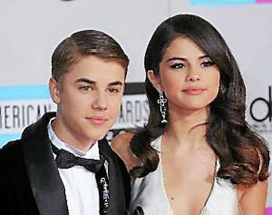 Justin Bieber and Selena Gomez in November 2011. Photo: (Elevation/CFI/Picturegroup)