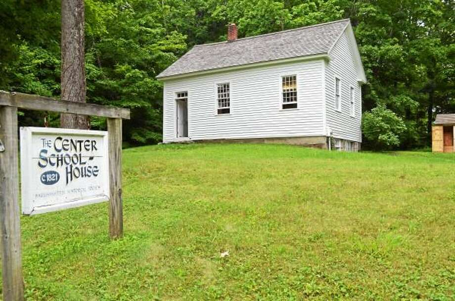 The one-room schoolhouse on Center Hill Road is a living piece of Barkhamsted history. (Kate Hartman-Register Citizen)