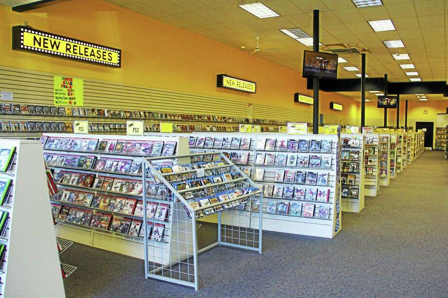 Inside Age of Video on Wednesday, Oct. 8, in Torrington. Store owners have decided to close its store next month. Photo: Esteban L. Hernandez — The Register Citizen