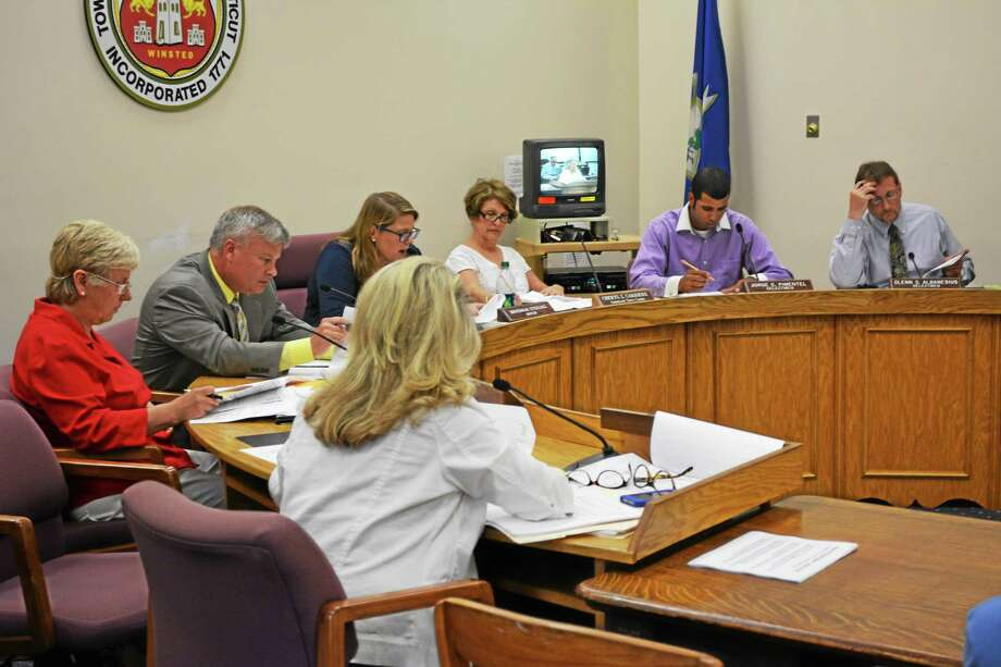 The Board of Selectmen voted unanimously to approve the sale of Lambert Kay Monday night. Photo: Ryan Flynn — The Register Citizen