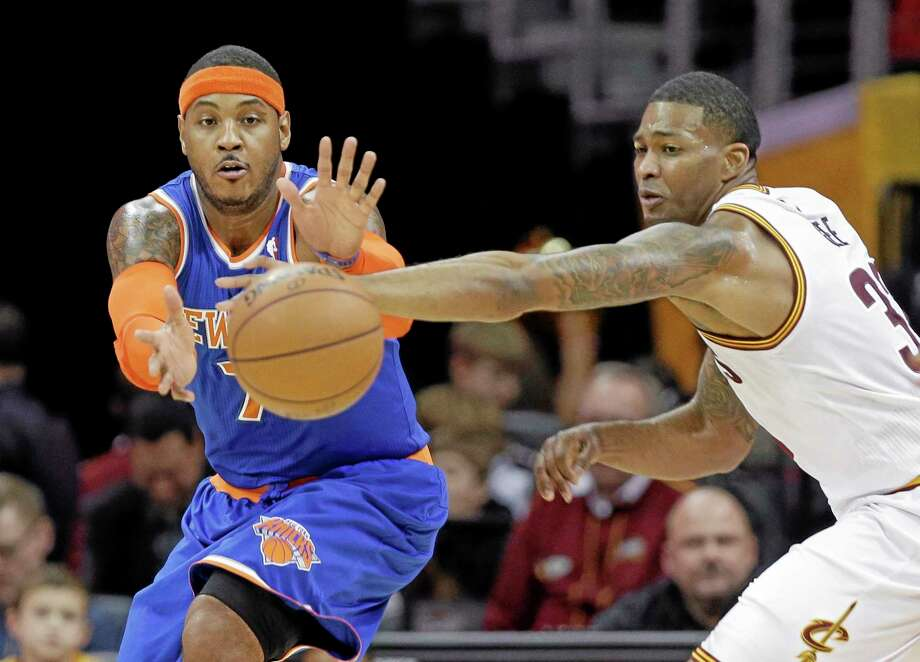The Knicks would like Carmelo Anthony to stay, but they also realize he will have some appealing options elsewhere. Photo: The Associated Press File Photo  / AP