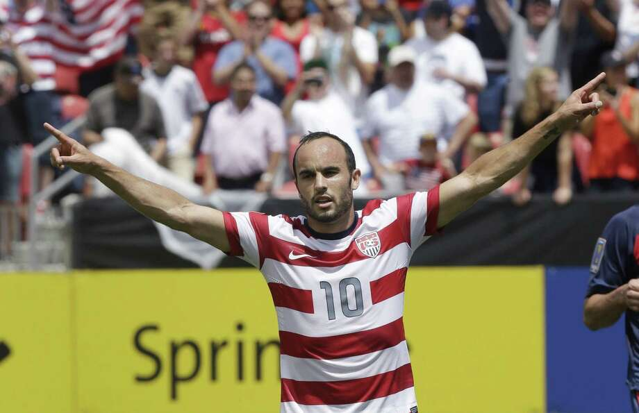 Landon Donovan will be surrounded by a relatively youthful roster for the United States' exhibition against Ecuador at Rentschler Field on Friday, when he is set to make his 157th and final international appearance. Photo: The Associated Press File Photo  / AP