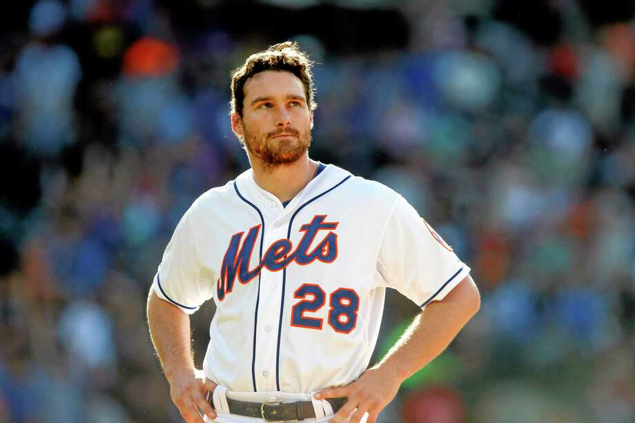 Daniel Murphy and the Mets got shut out 5-0 by the San Diego Padres on Saturday at Citi Field in New York. Photo: Jason DeCrow — The Associated Press  / FR103966 AP