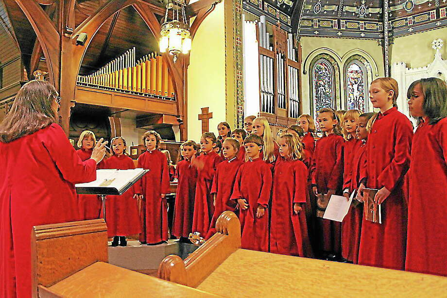 Submitted photo - Joyful Noise The members of Chorus Angelicus and Gaudeamus will give a concert Saturday night at Trinity Church in Torrington. Photo: Journal Register Co.