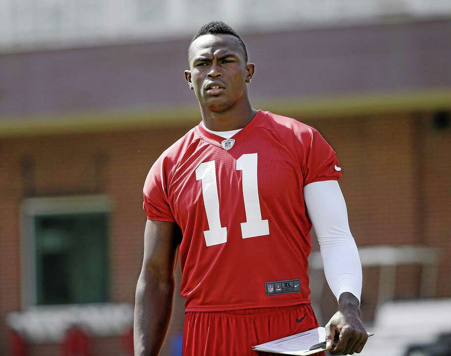 Wide receiver Julio Jones and the Atlanta Falcons will be to focus of Hard Knocks on HBO this preseason. Photo: The Associated Press File Photo  / AP