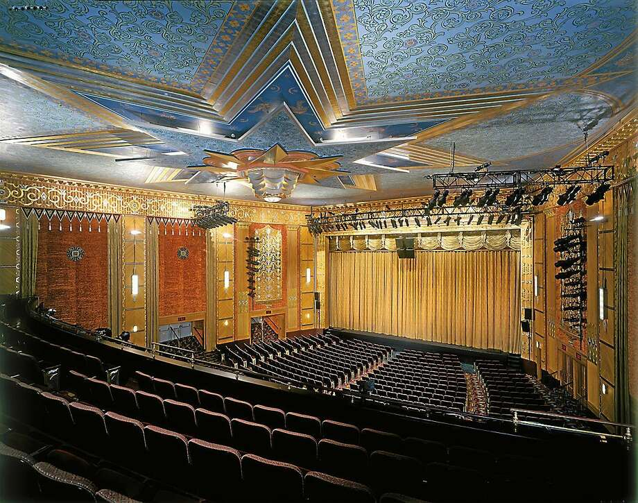 The interior of the Warner Theatre's main stage. Photo: Register Citizen File Photo