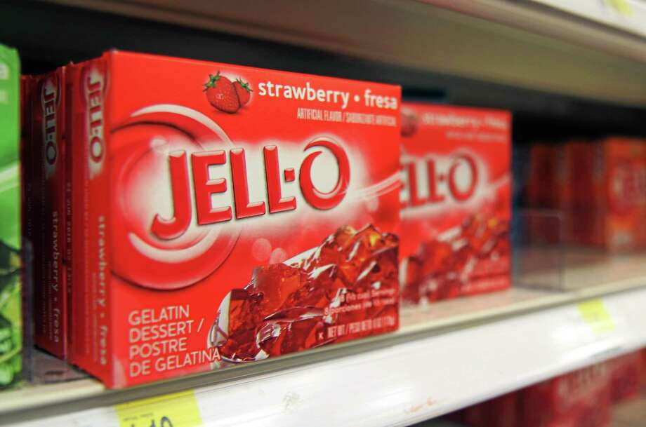 Boxes of Jell-O on a shelf at a store in Vauxhall, New Jersey. Photo: Dan Goodman — The Associated Press  / AP