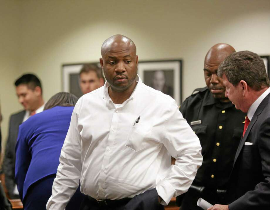 Truck driver Kevin Roper attends his first appearance at the Middlesex County Courthouse, Wednesday. Roper pleaded not guilty in the fatal New Jersey Turnpike crash that also injured comedian Tracy Morgan. Investigators are looking into what role Roper's long commute to work played in the accident. Photo: AP Photo —The Star-Ledger, John O'Boyle, Pool   / Pool, The Star-Ledger