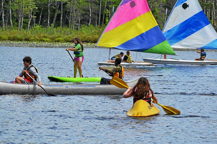 Campers out on the water at Camp Wa Wa Segowea in 2012. Photo: Contributed Photo
