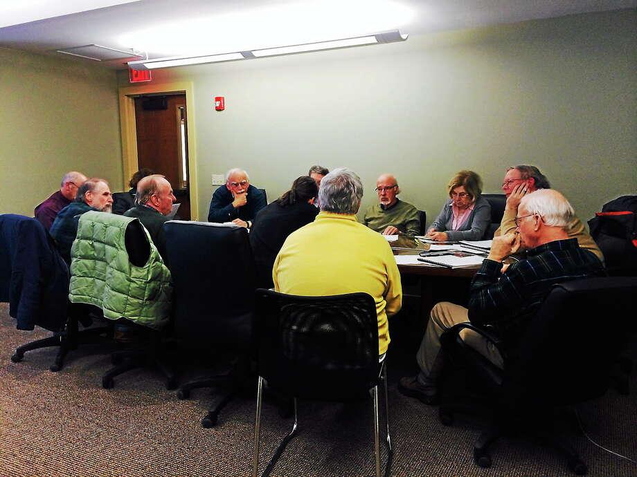 A recent meeting of the Northwest Connecticut Regional Housing Council. Photo: Shako Liu—The Register Citizen