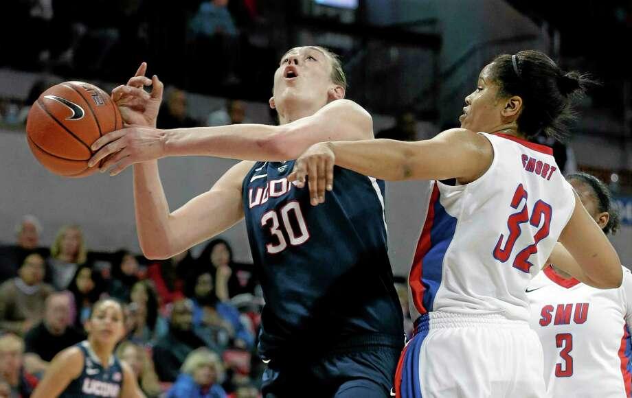 UConn's Breanna Stewart is enjoying a sensational sophomore season. Photo: LM Otero  — The Associated Press  / AP