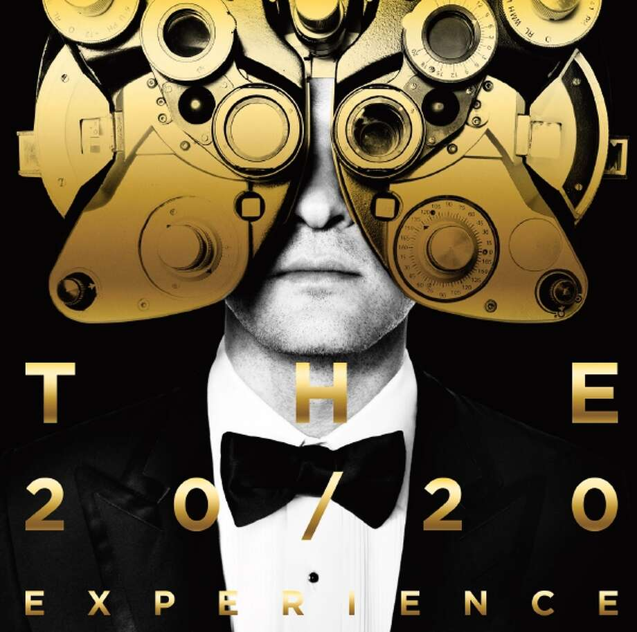 """This CD cover image released by RCA Records shows """"The 20/20 Experience 2 of 2,"""" by Justin Timberlake. (AP Photo/RCA) Photo: AP / RCA Records"""