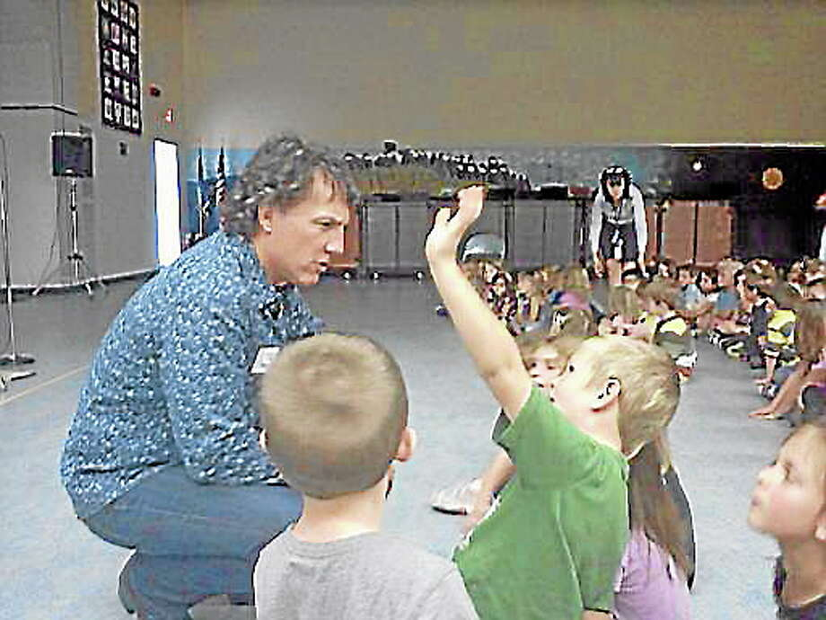 Dr. Monte Selby helped Region 10 students create their own songs in week-long program. Photo: Submitted Photo