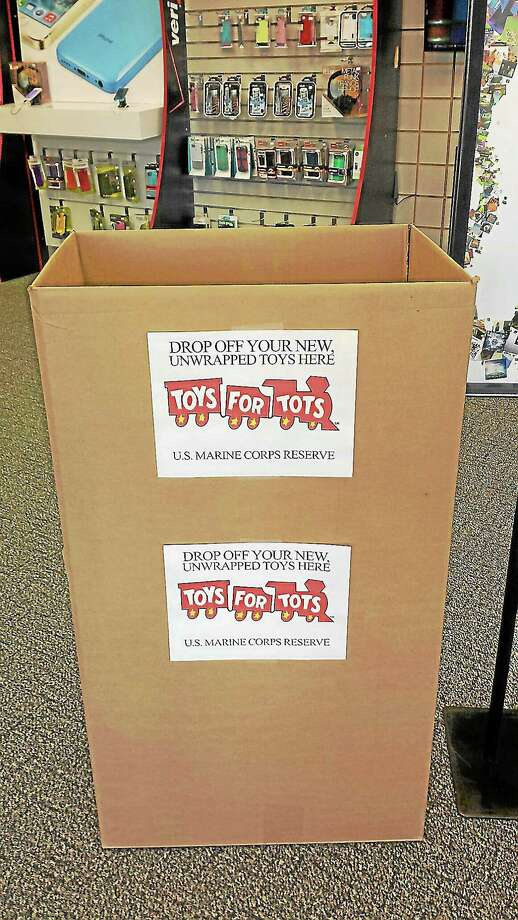 Verizon Wireless Zone in Torrington is collecting unwrapped toys for Marine Toys-for-Tots this holiday season. Photo: Contributed Photo