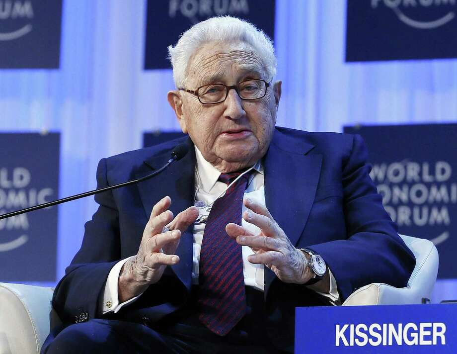 Henry Kissinger, chairman of Kissinger Associates, speaks during the annual meeting of the World Economic Forum (WEF) in Davos January 24, 2013. REUTERS/Pascal Lauener (SWITZERLAND - Tags: POLITICS BUSINESS) Photo: REUTERS / X90074