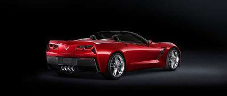 The redesigned Corvette is among 18 new or refreshed GM vehicles arriving in the U.S. this year, a push that is expected to boost sales. (Chevy)