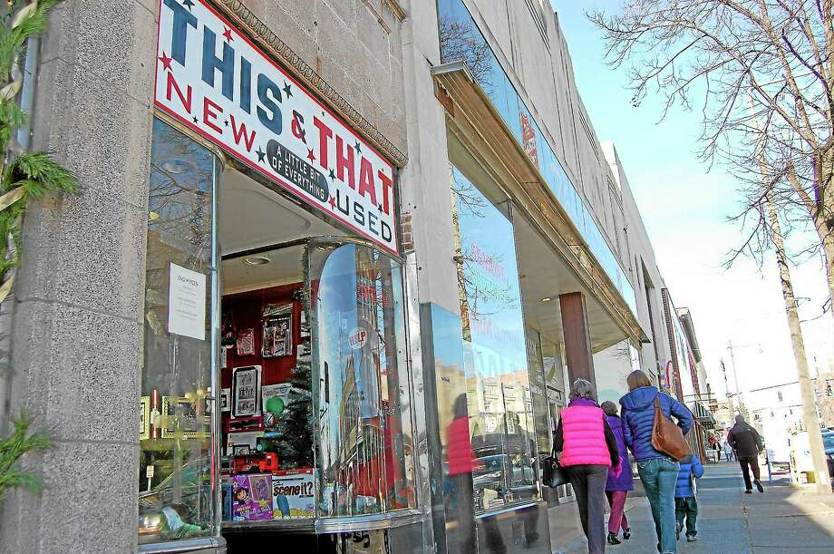 This and That on Main Street pictured on Small Business Saturday. Photo: Mercy Quaye — Register Citizen